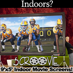 Scroovie Big Indoor Movie Screens