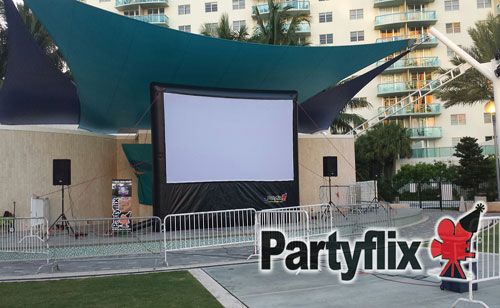 18ft Main Event Outdoor Movie Screen (Fort Myers, FL)