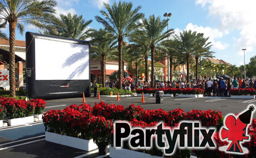 23ft Crowd Pleaser Outdoor Movie Screen (West Palm Beach, FL)