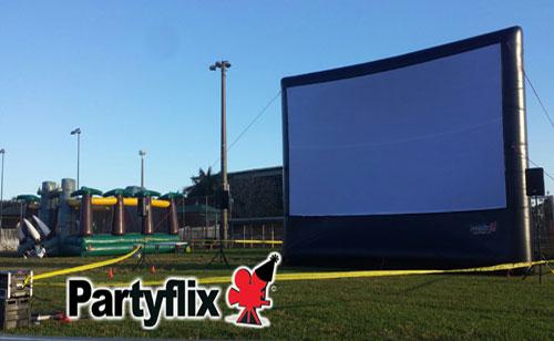 30ft Show Stopper Inflatable Movie Screen (Jacksonville, FL)