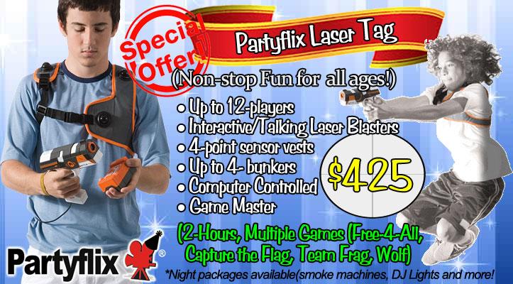 Laser Tag Rental in Florida