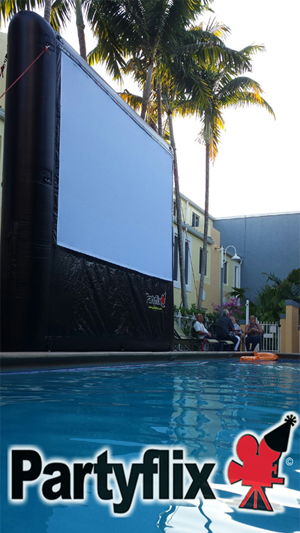 Partyflix Inflatable Movie Screens for sale