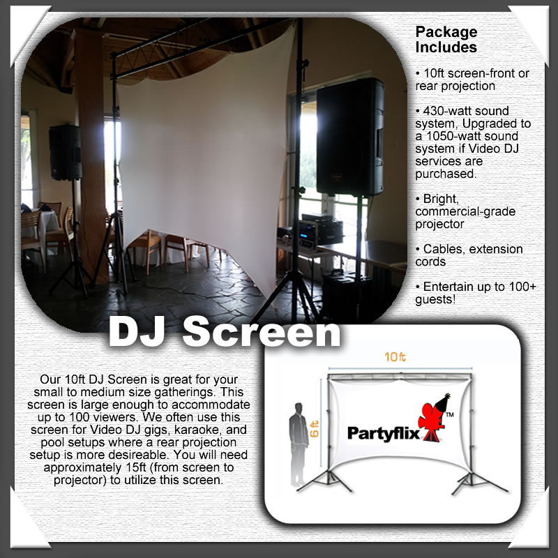 Our DJ Screen