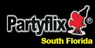Partyflix Big Movie Screen Rentals Miami