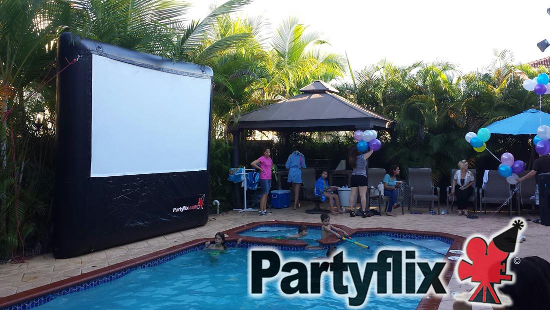 Outdoor Movie Screen Rentals in Miami