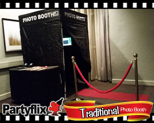 Photo booth rental in Miami Traditional