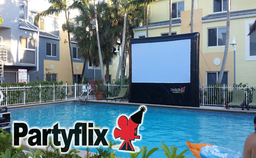 14ft Prime Time Inflatable Movie Screen (Port Saint Lucie, FL)