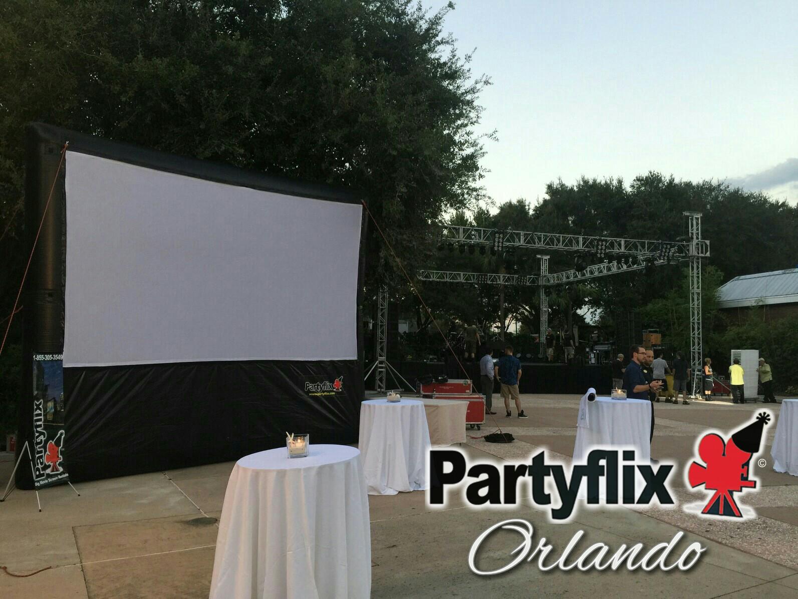 18ft Main EventInflatable Movie Screen (Orlando, FL)