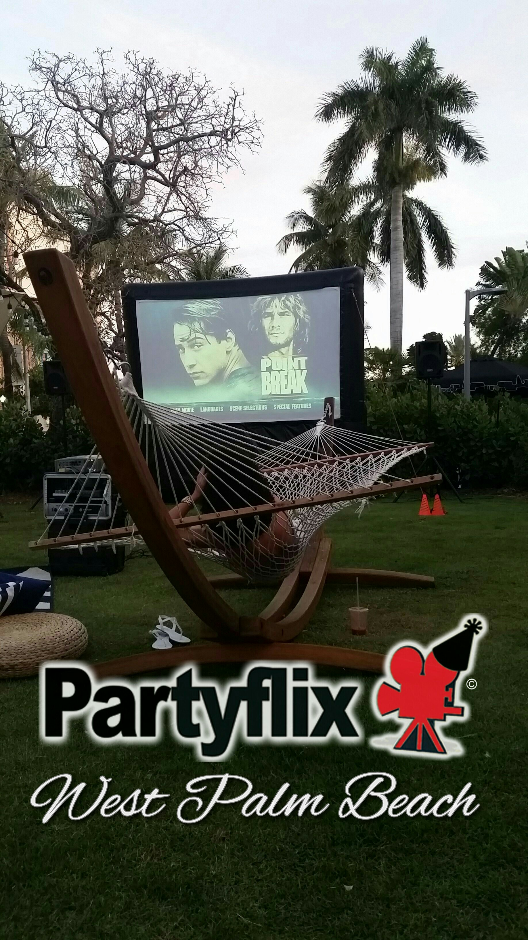 12ft Party Starter Inflatable Movie Screen (New Orleans, LA)
