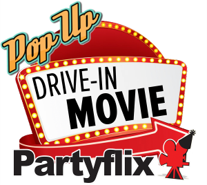 Partyflix Pop Up Drive In