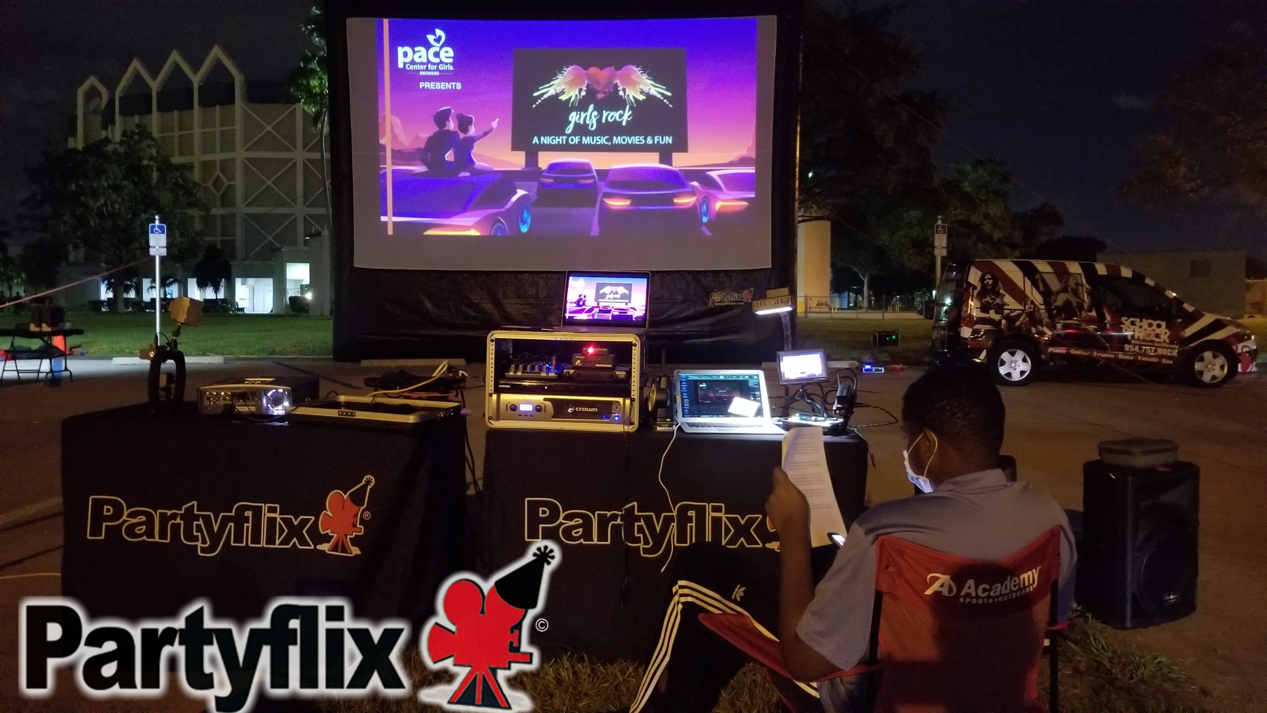 Partyflix® Live Video/Live Streaming
